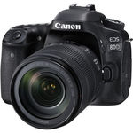 Зеркальная фотокамера Canon EOS 80D kit 18-135 IS USM NANO