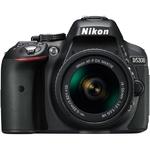 Зеркальная фотокамера Nikon D5300 Kit 18-55 VR AF-P Black