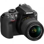 Зеркальный фотоаппарат Nikon D3400 Kit  AF-P 18-55 DX VR