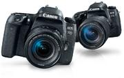Зеркальная фотокамера Canon EOS 77D kit 18-55 STM