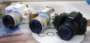 Зеркальная фотокамера Canon  EOS 200D kit 18-55 IS STM Silver