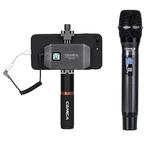 Микрофон Comica CVM-WS50H UHF 6-канальный Беспроводной петличный микрофон для смартфона