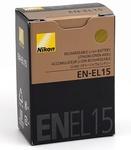 Аккумулятор Nikon EN-EL15 для Nikon D600. D800, D800E, 1 V1