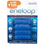 SANYO Eneloop HR-3UTGB-4BP-CASE AA 4шт.1900 mAh