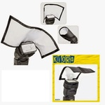 Универсальный рассеиватель JJC Kiora K-S11 для накамерных вспышек