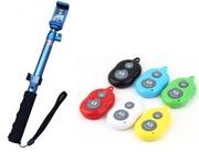 Универсальный Bluetooth Пульт Jmary Selfie Stick QP-128 Silver