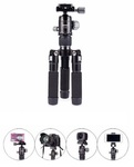 Jmary Professional Video Tripod KT25+Y10 Mini Tripod [18/21.5/51,5CM] Максимальная нагрузка 3кг