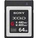 Карта памяти Sony QDG64E XQD 64Gb G series (440/400 MB/s)