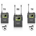 Беспроводной петличный микрофон Saramonic UwMic9 TX9+TX9+RX9