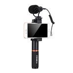 Микрофон + ручка + сумка для IPhone X/8/7 /6/6 S, LG, Samsung Galaxy Note Comica cvm-vm10-k1 Pro