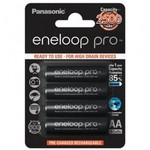 Аккумулятор Panasonic AA 2500mAh NiMh 4шт Eneloop Pro (BK-3HCDE/4BE)