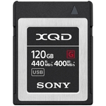Карта памяти XQD 120Gb Sony QDG120F G series (440/400 MB/s)