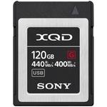Карта памяти XQD 120Gb Sony QDG120F G series (440/400 MB/s)