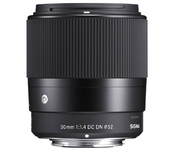 Sigma 30mm F1.4 DC DN for Canon EF-M mount